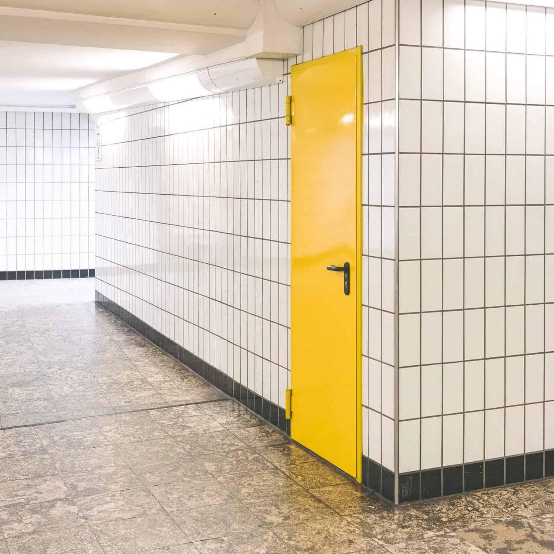 metrostation in Hamburg