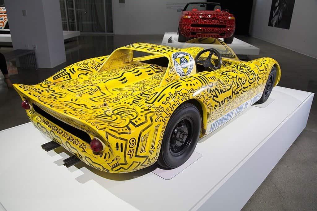 Keith Haring in een automuseum