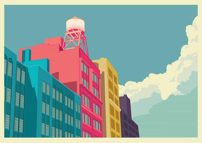 illustratie van New York