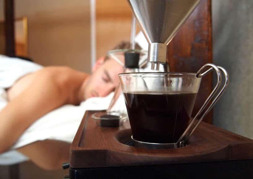 wakker worden met koffie