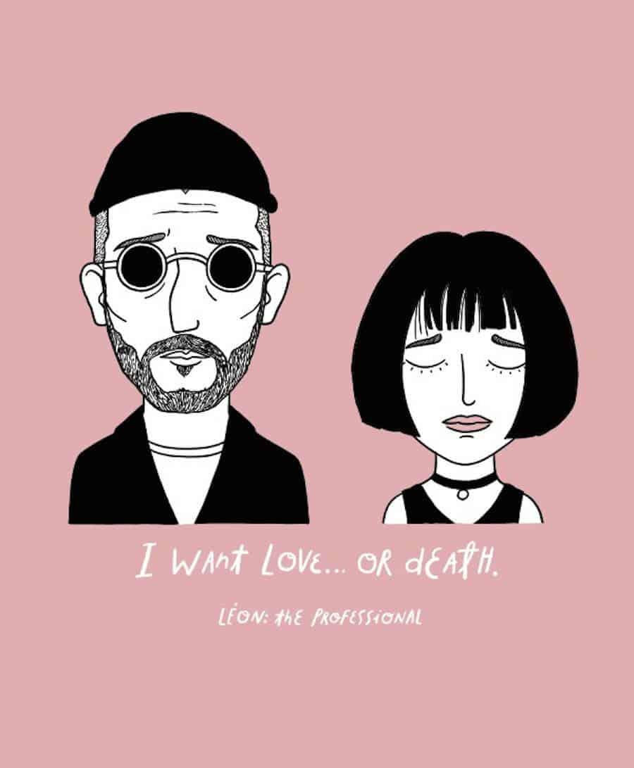 Sad Movie Couple