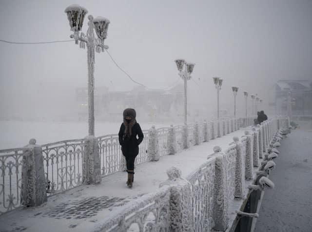 Groeten uit de koudste stad ter wereld