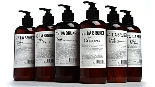 verzorgingsproducten van L:A Bruket