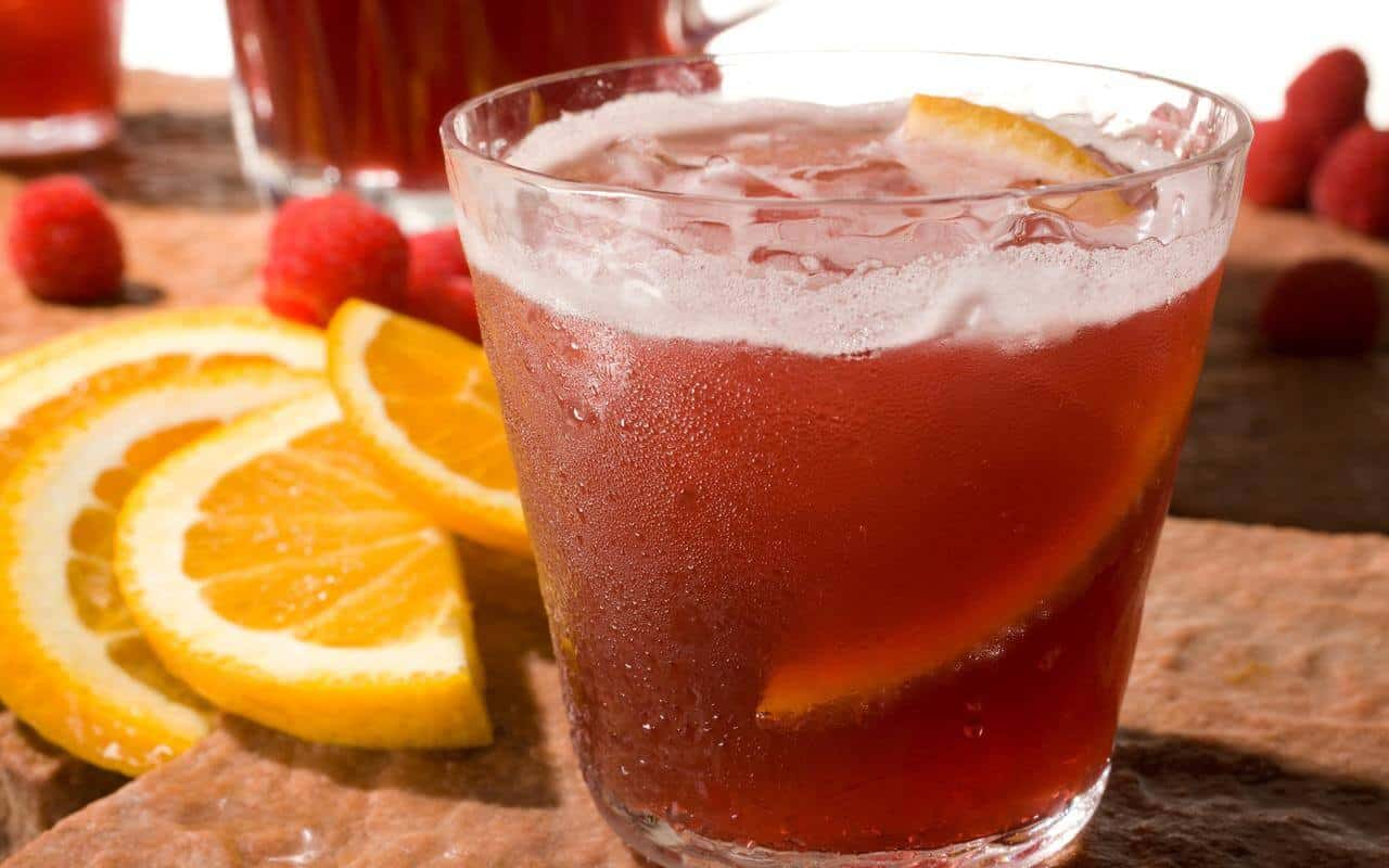 sangria met fruitbier