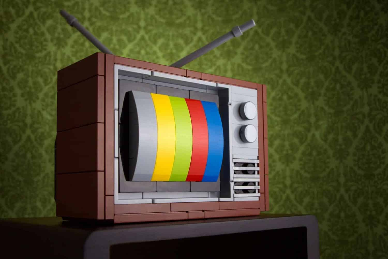 televisie van lego