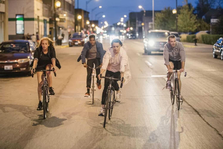fietskleding van Levi's