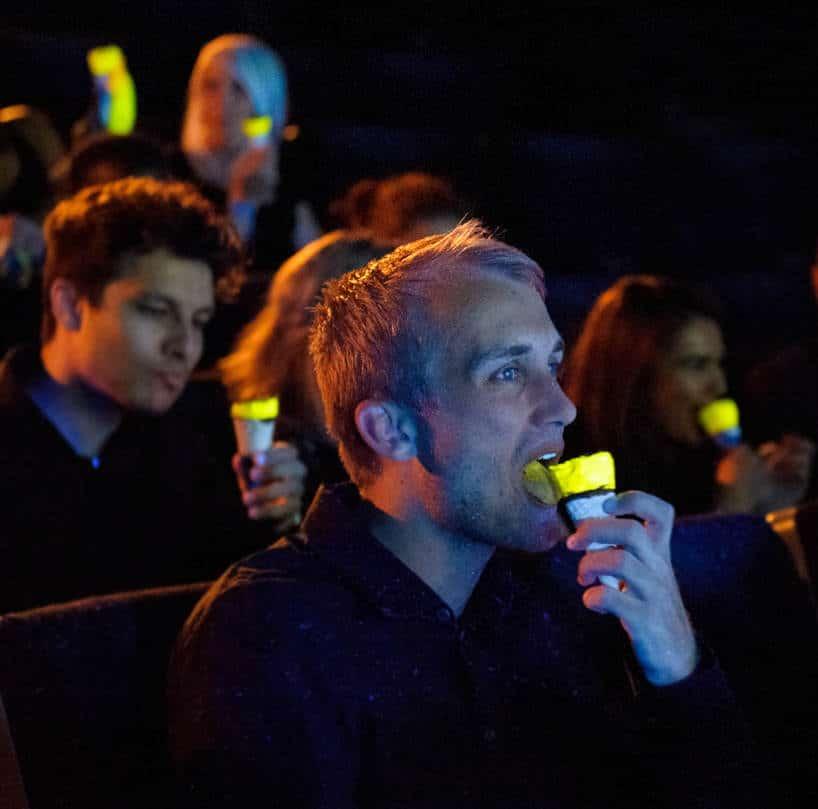 glow-in-the-dark cornetto