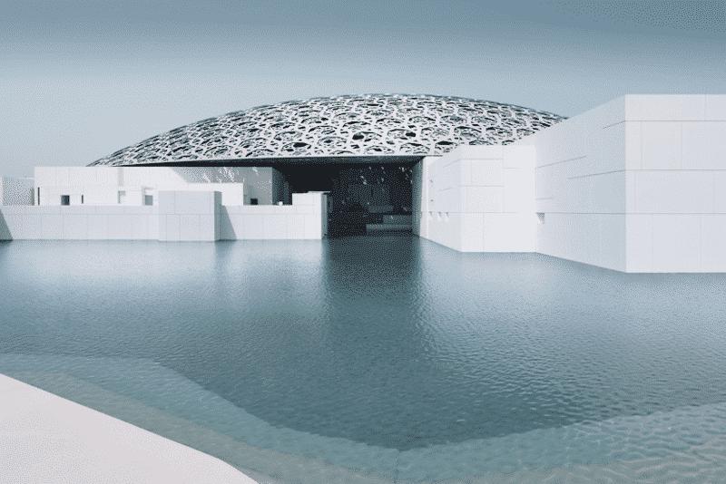 Het Louvre in Abu Dhabi