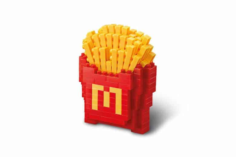 McDonald's x Nanoblock