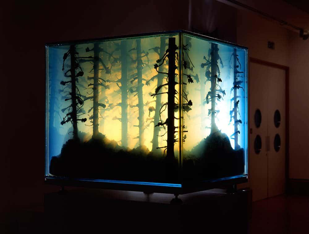 aquarium of schilderij?