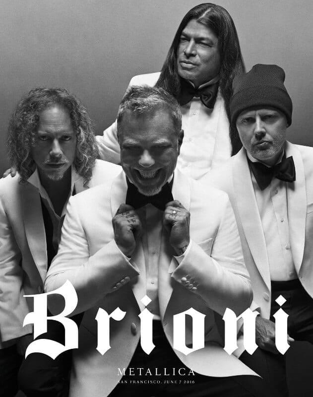 Metallica in Brioni