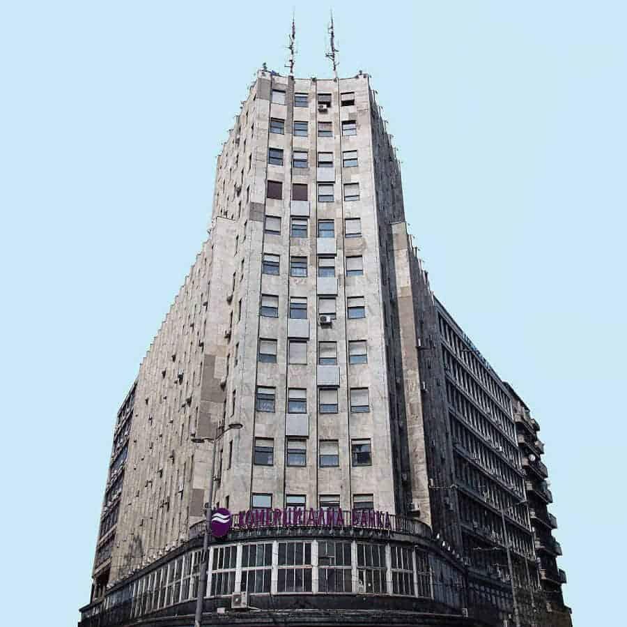 architectuur in Belgrado