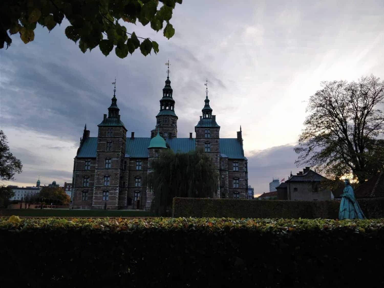 Stadspaleis Rosenborg in park Østre Anlæg