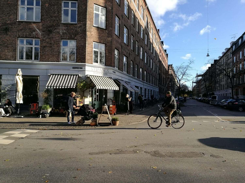 Straatbeeld in de wijk Nørrebro