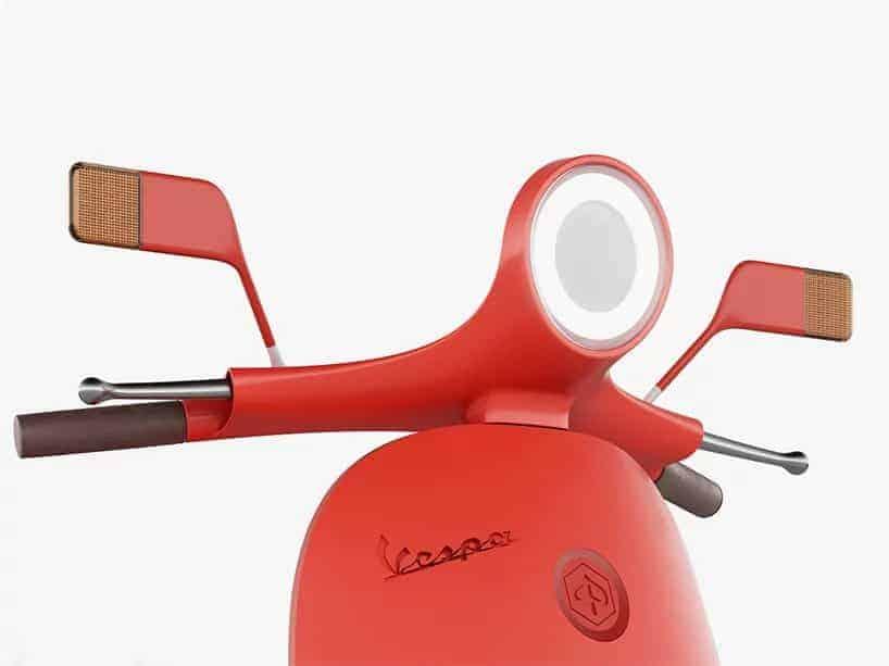 scooter van ontwerper Giulio Iacchetti