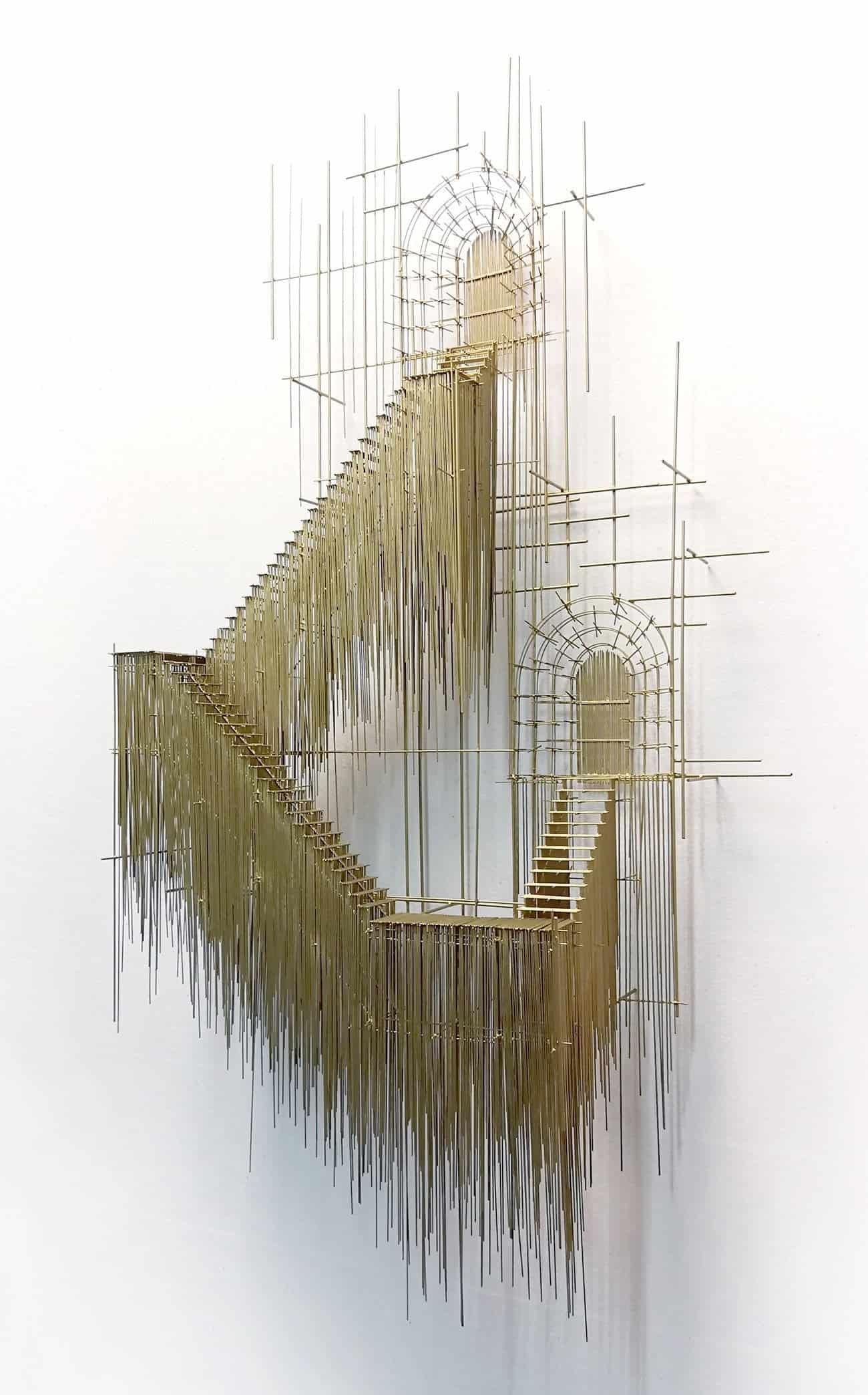 sculptuur van David Moreno
