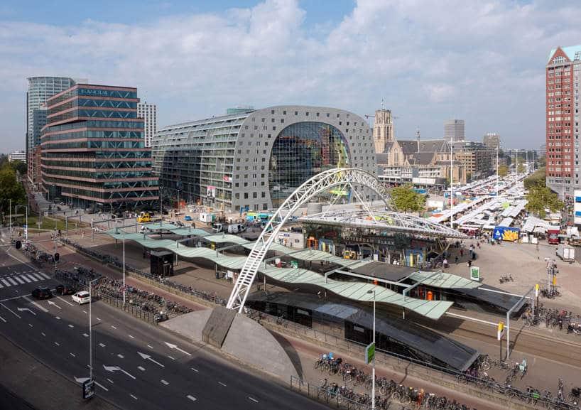 De Markthal in Rotterdam is open