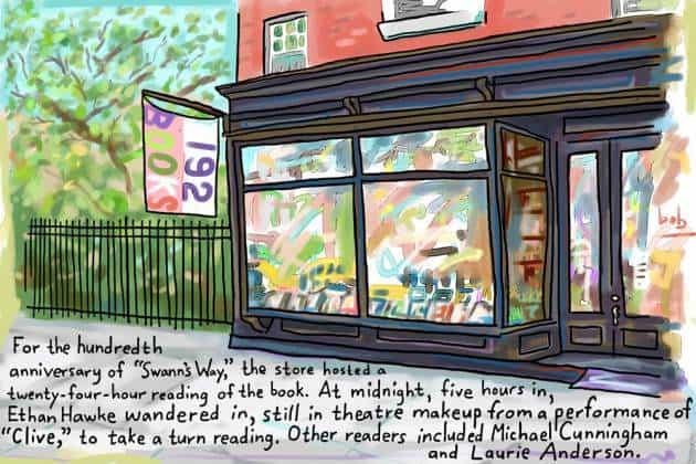 boekwinkel in New York