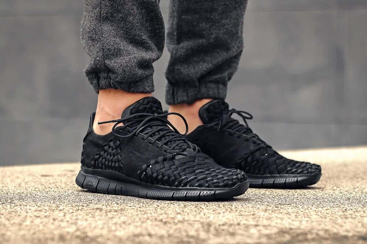 zwarte sneaker van Nike