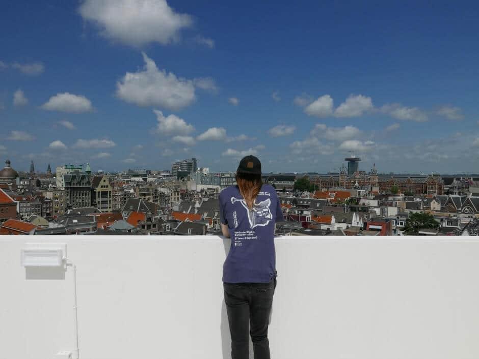 Uniek uitzicht over Amsterdam