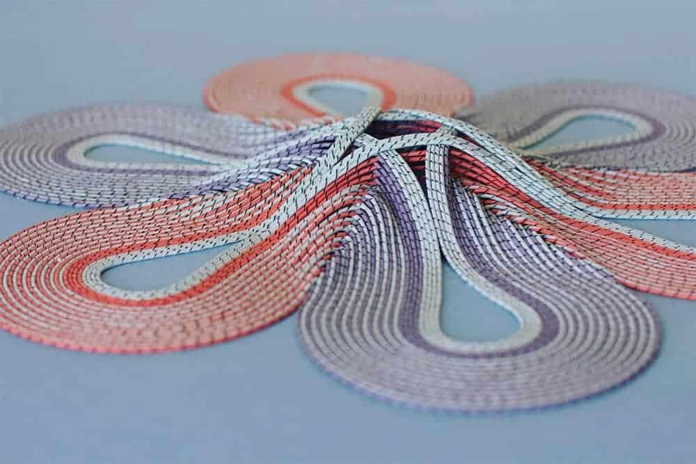 tapijt van papier