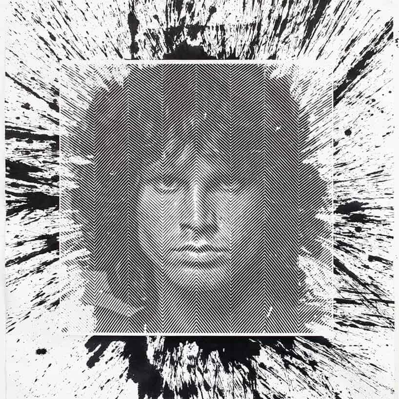 Portret van Jim Morrison