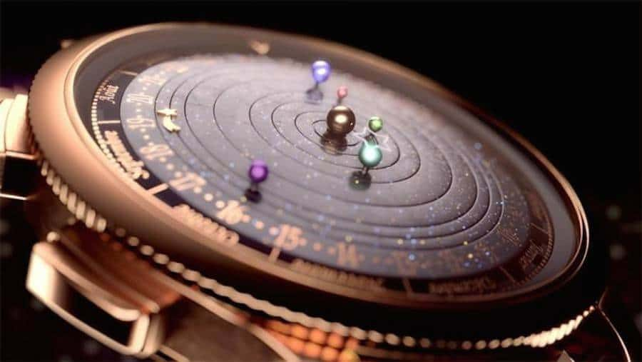 The Midnight Planetarium Timepiece