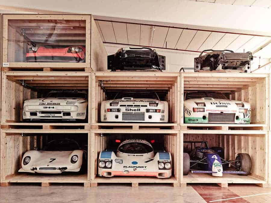achter de schermen bij het Porsche Museum