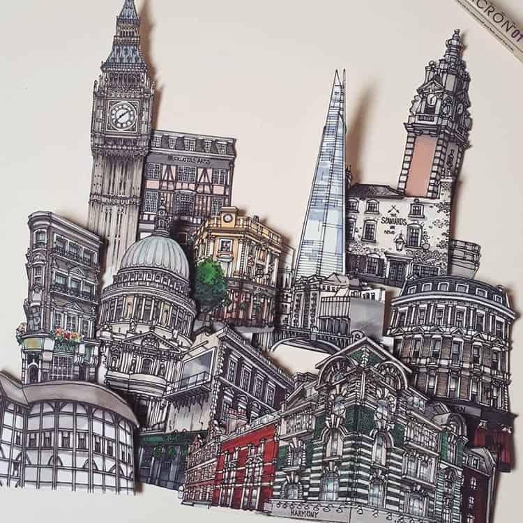 Londen in het klein