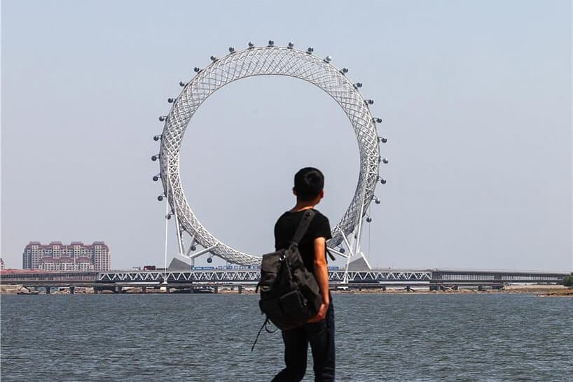 bailang bridge ferris wheel