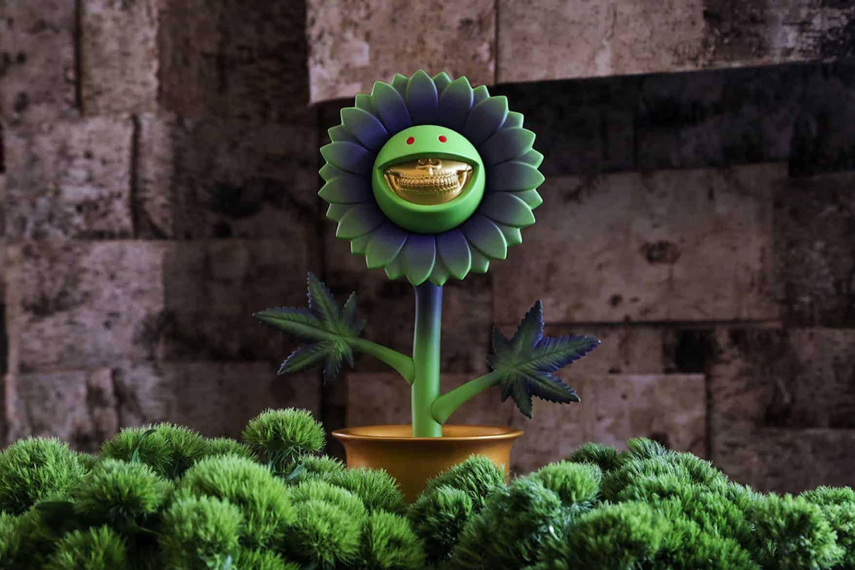 Bijzondere bloem van Ron English