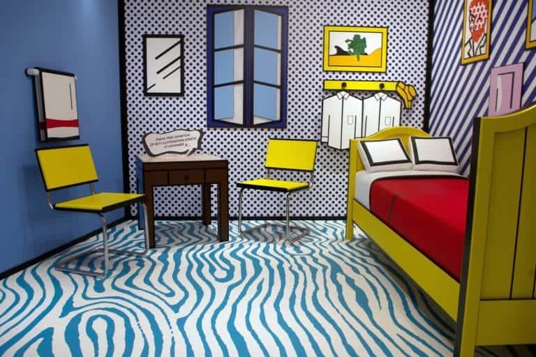 Room Arles in 3D