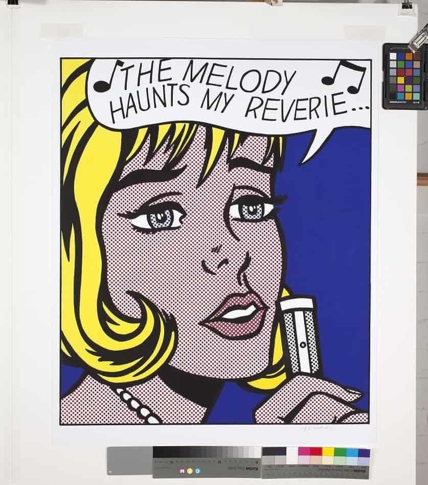 Roy Lichtenstein – Reverie, 1965