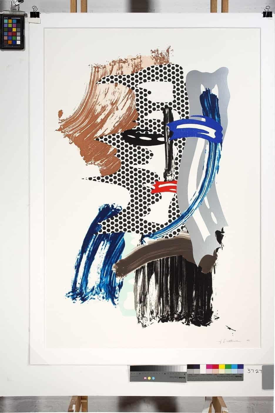 Roy Lichtenstein _ The Mask, 1989