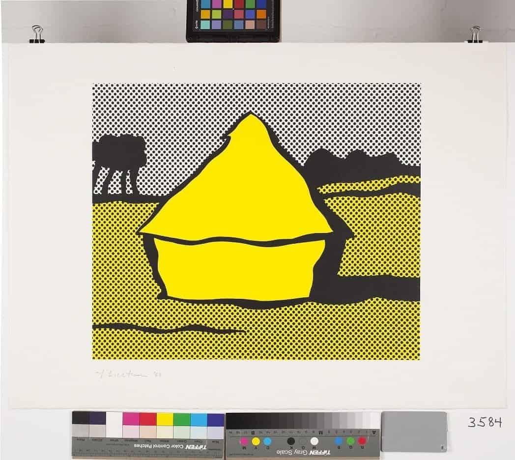 Roy Lichtenstein – Haystack, 1969
