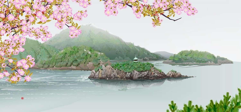 kunst van Tatsuo Horiuchi