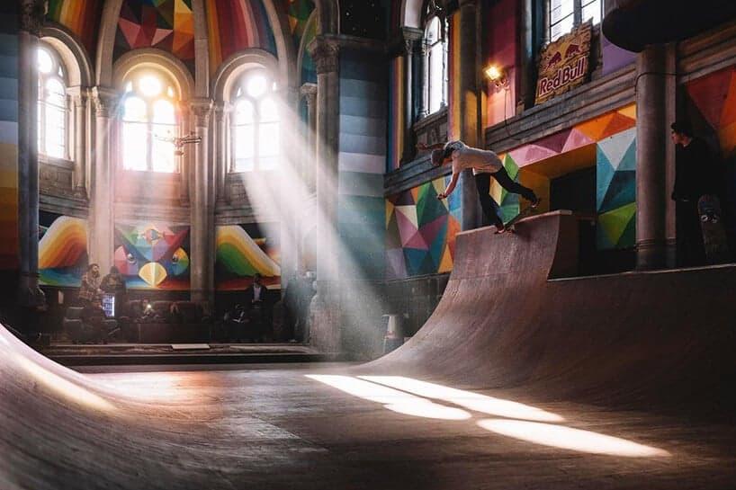 skatepark in kerk