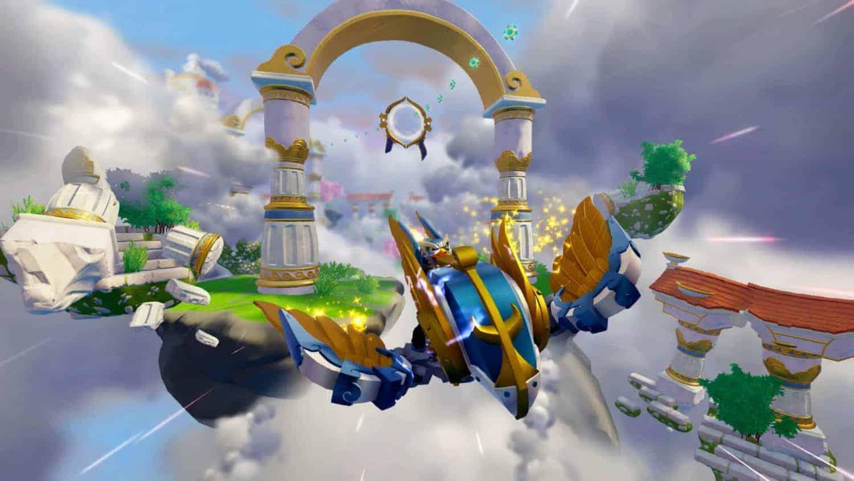vliegen in Skylanders Superchargers