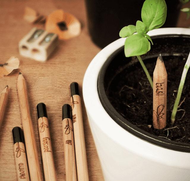 potlood met tweede leven