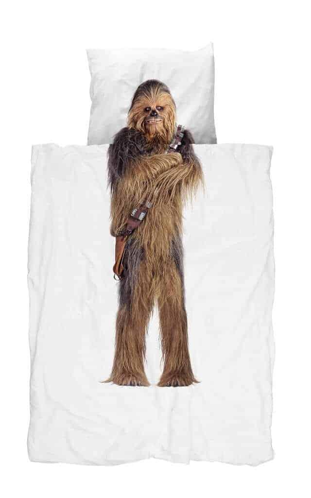 slapen met chewbacca