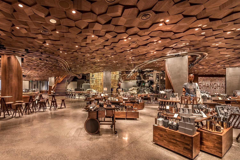 Grootste Starbucks ter wereld