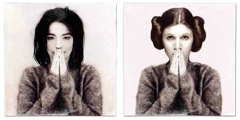 mash-up tussen Star Wars en muziek