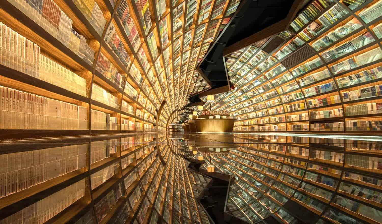 tunnel van boeken