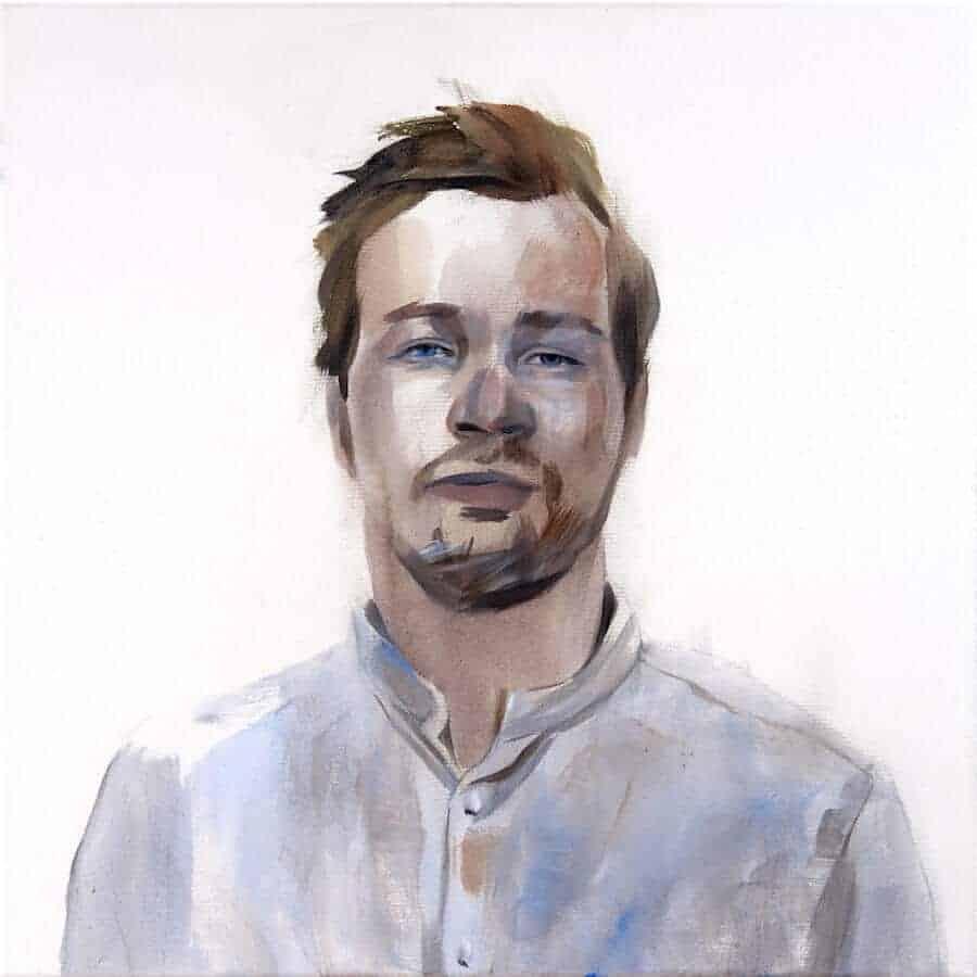 portret van een Tinder-profiel
