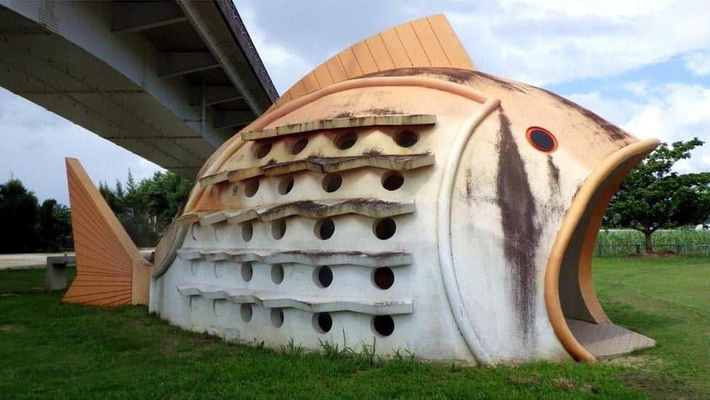 openbaar toilet in Okinawa