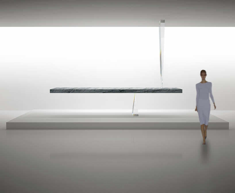 zwevende tafel