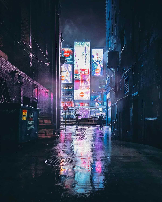 Nachtelijk Toronto