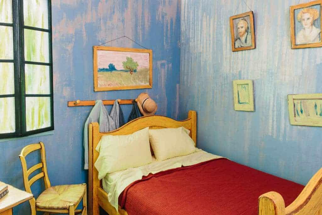 de slaapkamer van Vincent van Gogh