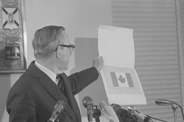 De vlag van Canada had er heel anders uit kunnen zien