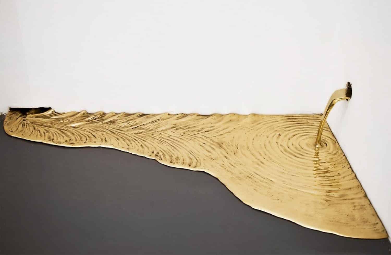 goud van kunstenaar Vanderlei Lopes